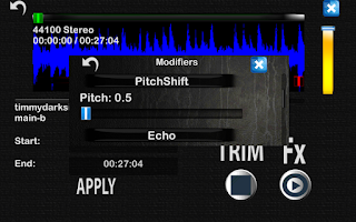 Screenshot of dPocket Studio