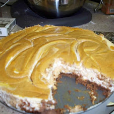 Spiced Pumpkin Swirl Cheesecake