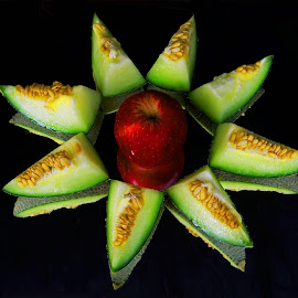 melon decorated by Asif Bora - Food & Drink Fruits & Vegetables