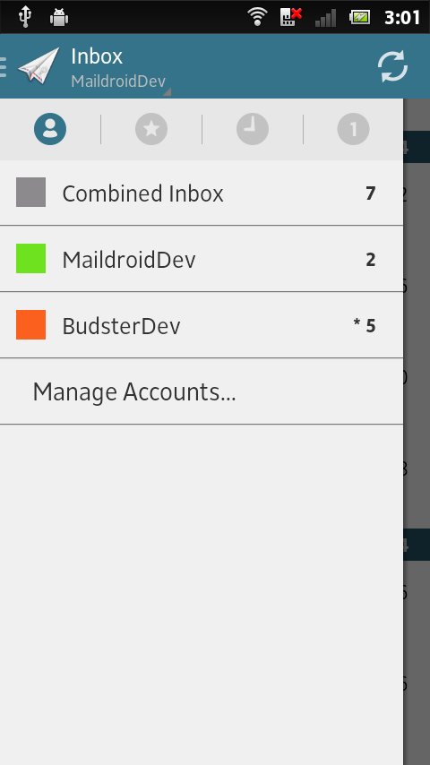MailDroid - Free Email App Screenshot 1