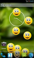 Screenshot of Smiley Face Live Wallpaper