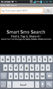 Smart SMS Search - screenshot