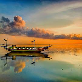 by Dida Melana - Transportation Boats