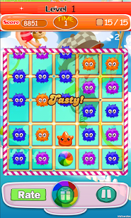 Candy Face Heroes - screenshot