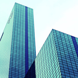 Business blue by Žaklina Šupica - Buildings & Architecture Office Buildings & Hotels