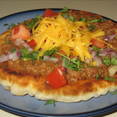 Amy's Favorite Indian Fry Bread Tacos
