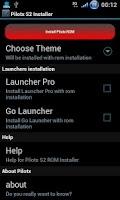 Screenshot of Pilotx S2 ROM Installer