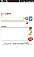 Screenshot of Free SMS Indonesia