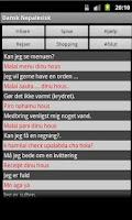 Screenshot of Danish Nepali Dictionary
