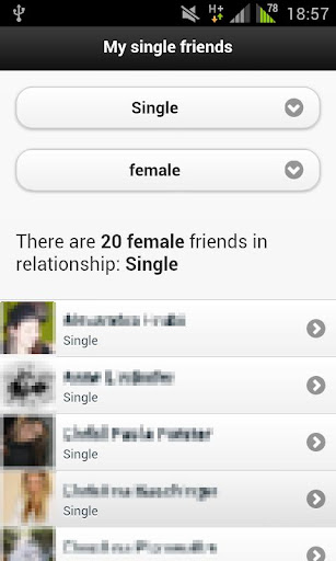 My single friends