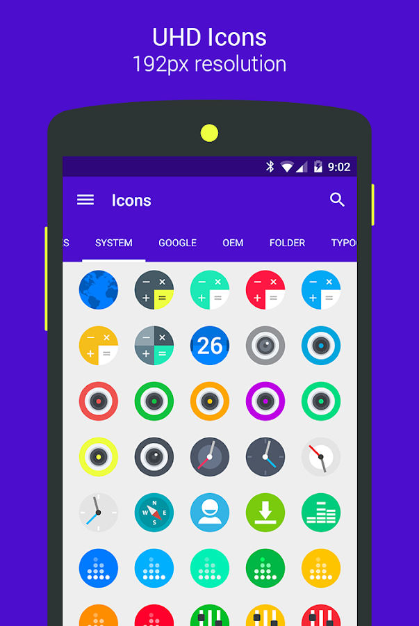 Goolors Circle - icon pack Screenshot 18