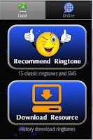 Screenshot of Ringtone download