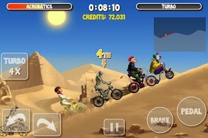 Screenshot of Crazy Bikers 2 Free