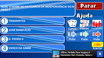 Screenshot of Show do Milhão - O Melhor