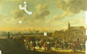 RIJKS: Cornelis Beelt: painting 1701