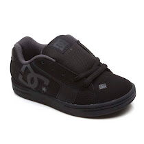 DC All Black Trainer SCHOOL SHOE