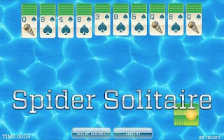 Screenshot of Summer Solitaire