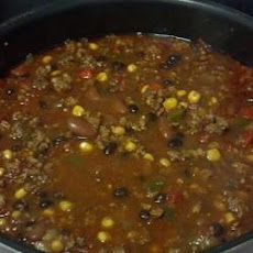Chad's Slow Cooker Taco Soup
