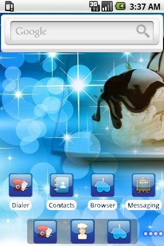 玩個人化App|Vanilla Icecream [SQTheme] ADW免費|APP試玩