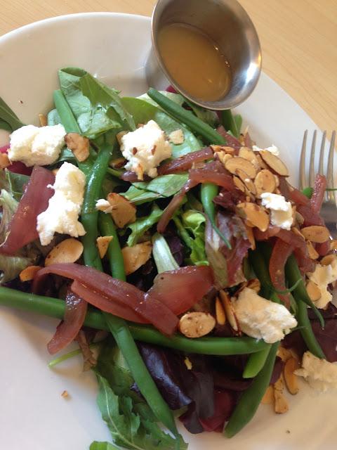 Roasted beet salad - YUM!