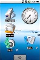 Screenshot of Bigger Icons Free Widget