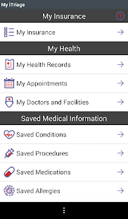 iTriage Health- screenshot thumbnail