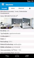 Screenshot of IMO - dla nieruchomości