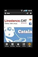 Screenshot of Linedance.cat English