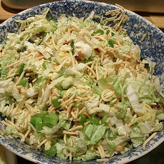 Oriental Cabbage Salad With Chicken
