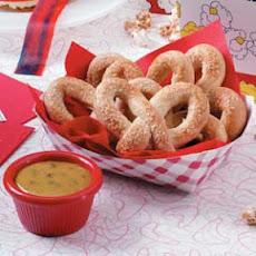 Soft Pretzels with Mustard