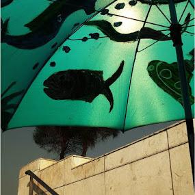 under the umbrella  by Ully Zoelkarnain - City,  Street & Park  City Parks
