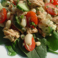 Tuna, Bean and Lemon Salad