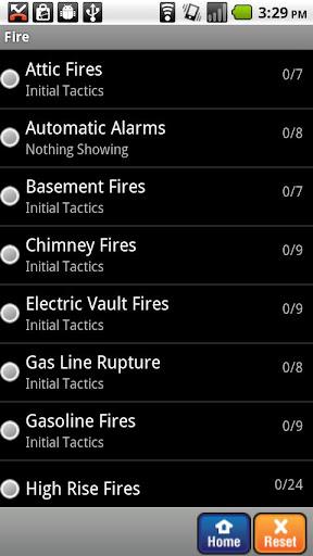Fire Officer Field Guide SHS - screenshot