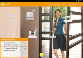Screenshot of Somfy-SmartHome erleben