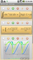 Screenshot of MathScript Scientific Calc