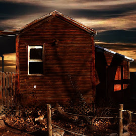 Ugly house by Victor Pizzola - Digital Art Things ( ugly house )