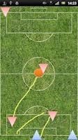 Screenshot of Tactic board (Soccer)