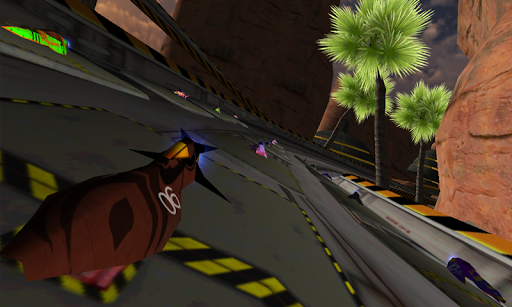 LevitOn Speed Racing HD - screenshot
