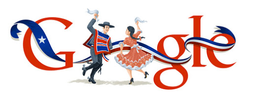 Google Doodle Chile Independence Day 2013