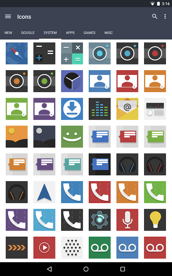 Evo Icon Pack Screenshot 8