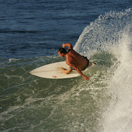 Catching the wave by Mike O'Connor - Sports & Fitness Surfing ( surfing, surfer, south africa, ocean, swimming,  )