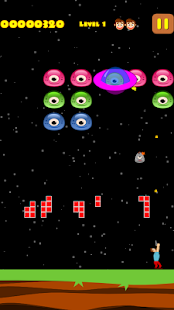 Jelly Invaders : UFO Invasion - screenshot