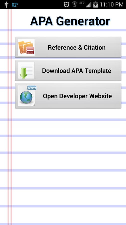 apa citation generator for essays