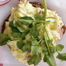 Egg Salad with Chutney Mayonnaise