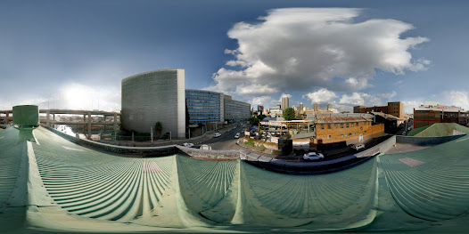 Panoramic view from the roof of the Johannesburg Central Police Station