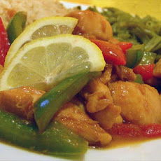 Diabetic Asian Lemon Chicken