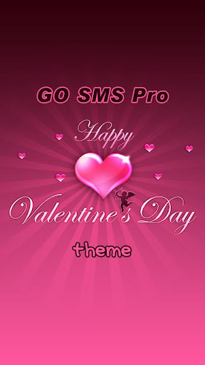 GO SMS Pro Valentine's Day