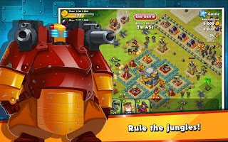 Screenshot of Jungle Heat - Christmas Rush
