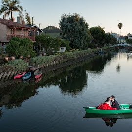 An Evening With You by Yansen Setiawan - Wedding Other ( creative, art, losangeles, illusion, boat, canal, love, fineart, yansensetiawanphotography, prewedding, d800, wedding, lifestyle, photographer, la, yansensetiawan, nikon, yansen, engagement )
