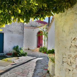 Greek Village by Jack Lewis McClure - Buildings & Architecture Other Exteriors ( hdr, village, greece, old town, buildings,  )